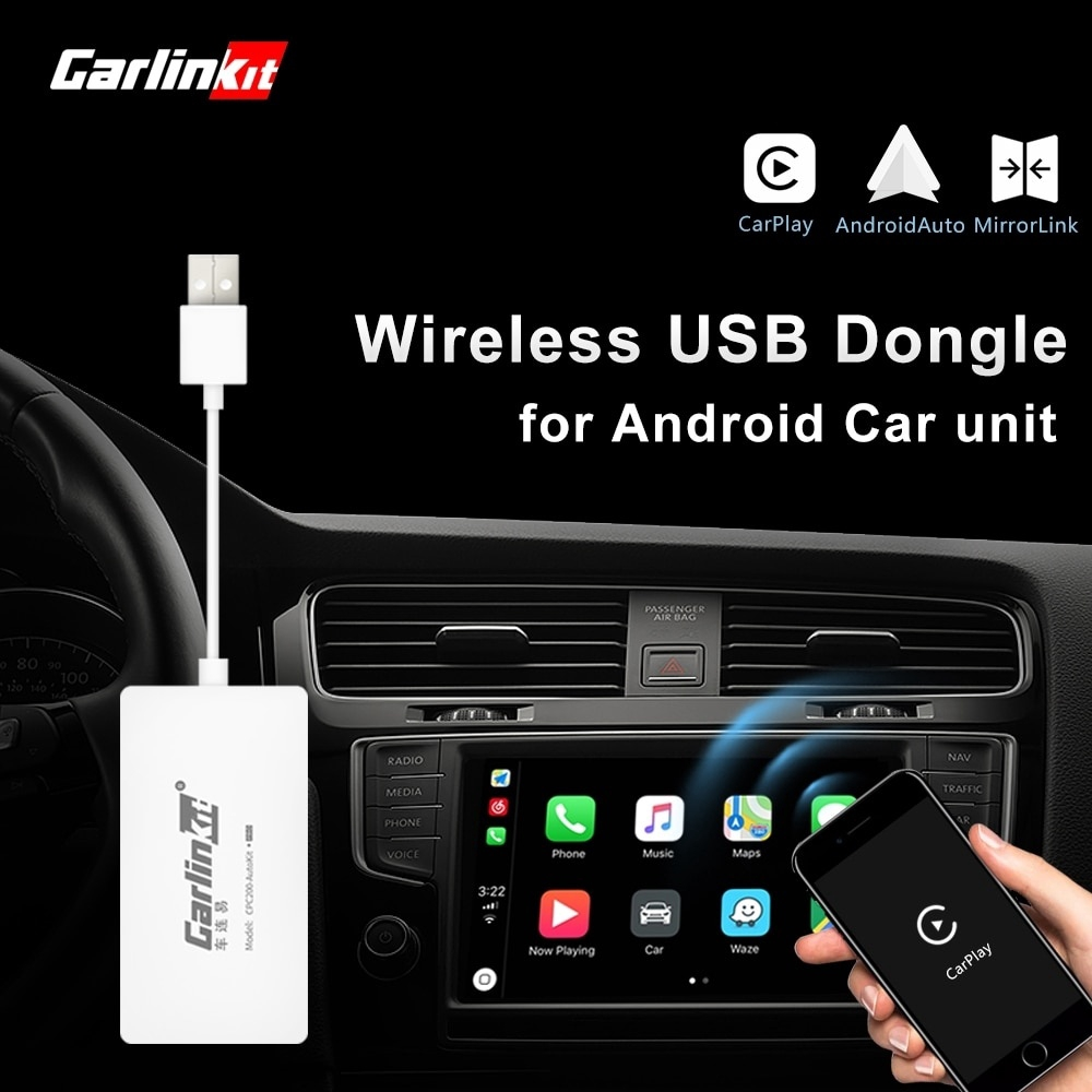 Carplayit Apple Carplay Dongle Android เครื่องเล่นเนวิเกเตอร์นําทาง