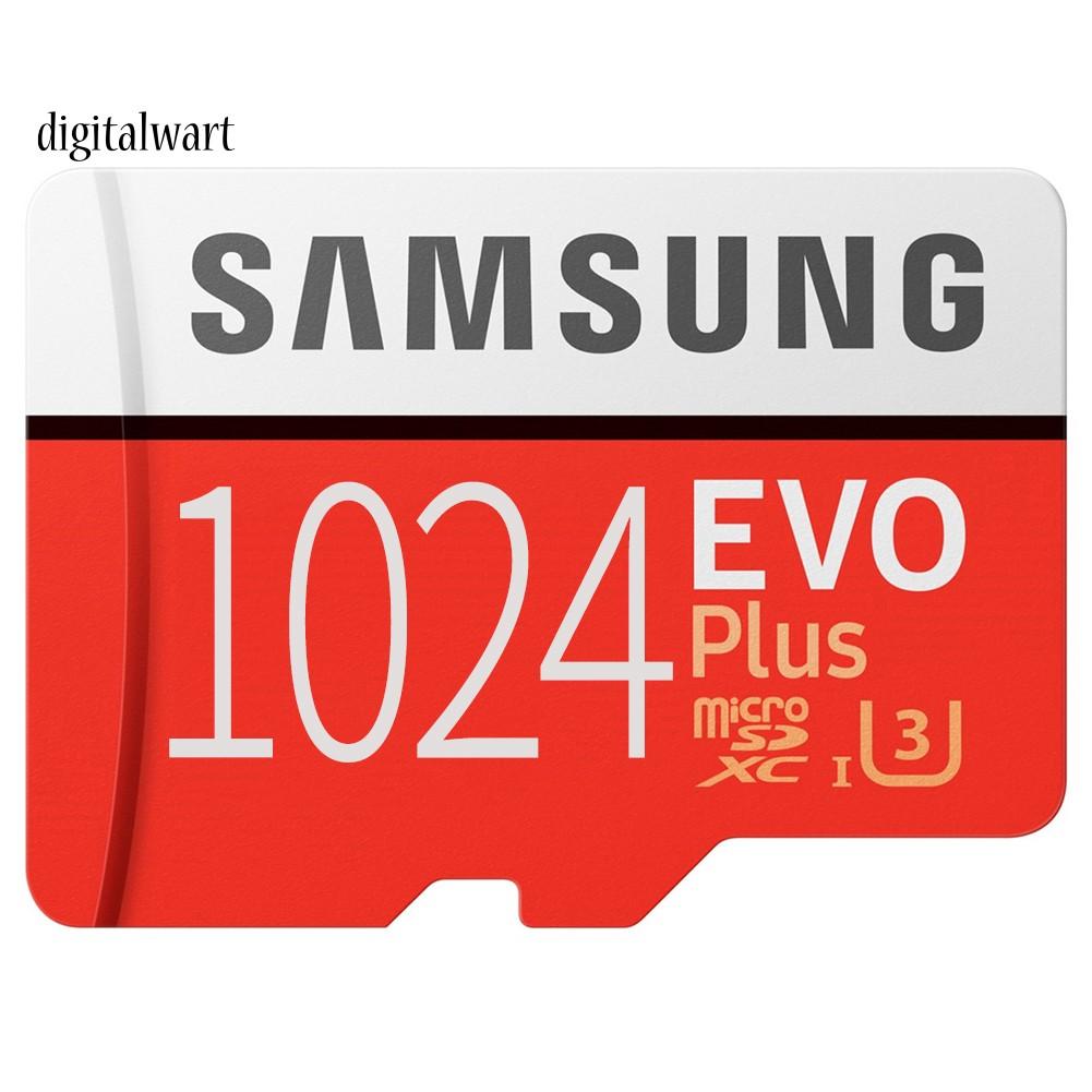 Dg Samsung Evo High Speed 1 T 512 Gb Tf แฟลชเมมโมรี่การ์ดสําหรับมือถือแท็บเล็ต