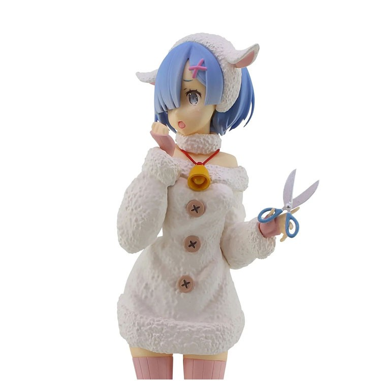 ☇Garage-Kit Prize-Figure Seven Wolf Lamb Different-World REM Fairy-Tale And From-Scratch