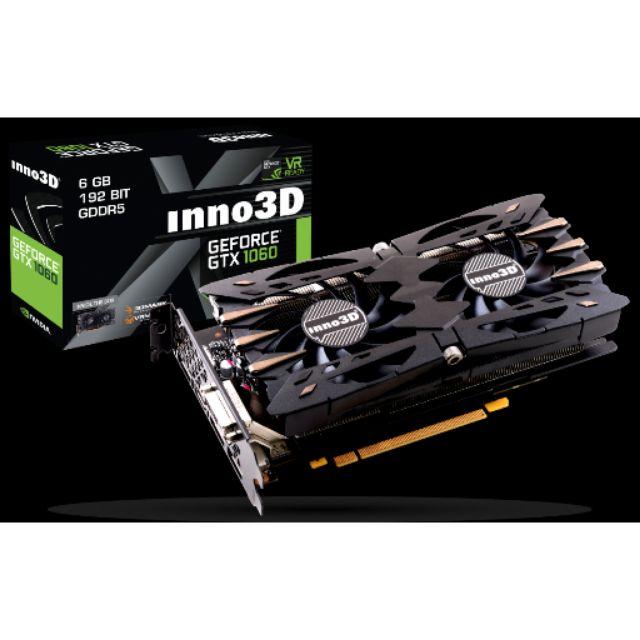 INNO3D GTX1060 TWIN X2 6GB DDR5 192 BIT