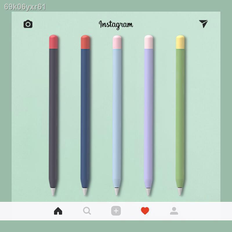 พรมเช็ดเท้า✵❈✙PZOZ เหมาะสำหรับ Apple ดินสอปากกา 1 รุ่น 2 รุ่นที่ iPencil ฝาครอบป้องกัน applepencil ซิลิโคนบางเฉียบแม่เห