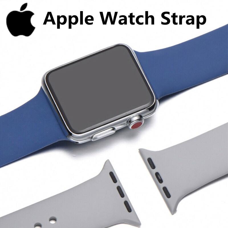 สายนาฬิกาข้อมือสําหรับ Apple Watch Band Iwatch Strap 44/42มม. Size M/L สําหรับ Iwatch Series SE/6/5/4/3/2/1 สายนาฬิกาข้อมือ
