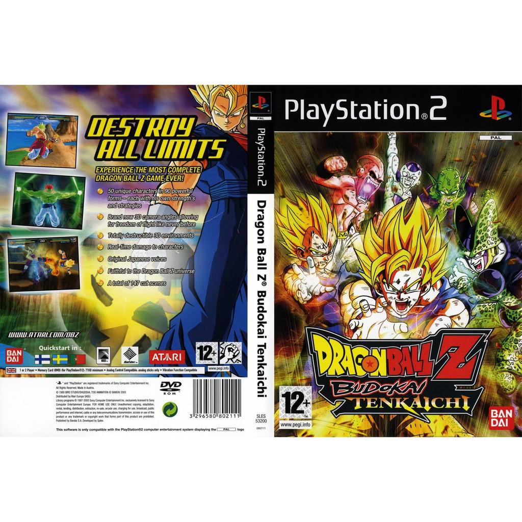 แผ่นเกมส์ PS2 (ส่งไว) DragonBall Z Budokai Tenkaichi [USA]
