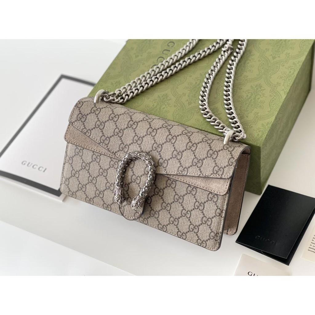 ✺☃¤Gucci handbags classic Dionysus chain bag shoulder messenger bag