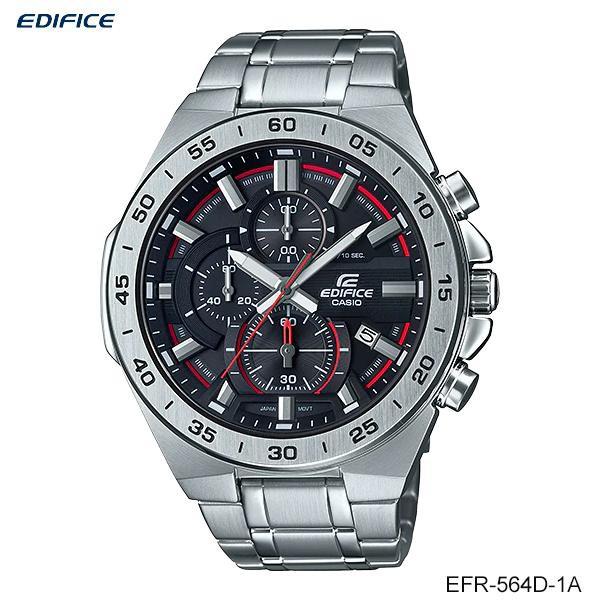 Casio Edifice Chronograph นาฬิกาข้อมือผู้ชาย สายสแตนเลส รุ่น EFR-564D EFR-564D-1A EFR-564D-2A