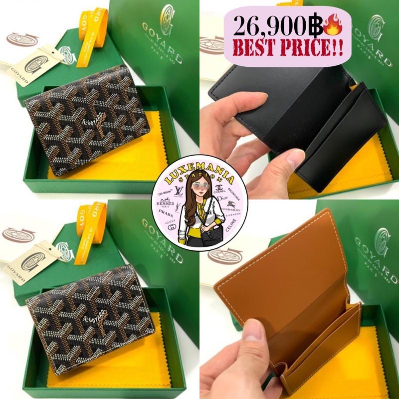 👜: New!! Goyard Card Wallet Size 4 x 3 cm.‼️ก่อนกดสั่งรบกวนทักมาเช็คสต๊อคก่อนนะคะ‼️