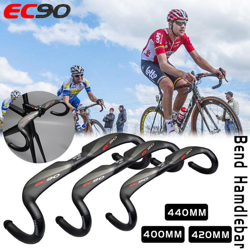 UD Matte carbon MTB road Racing bike 31.8mm handlebar Drop bar 400//420//440mm