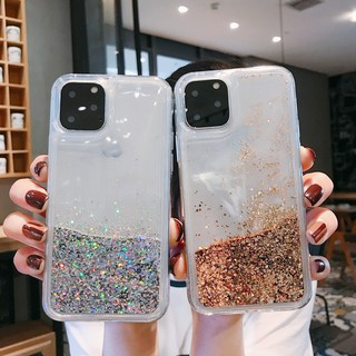Review เคสสำหรับ iPhone 6 6 S 7 8 Plus X XR XS Max 11 pro Max Gold Silver Glitter Bling