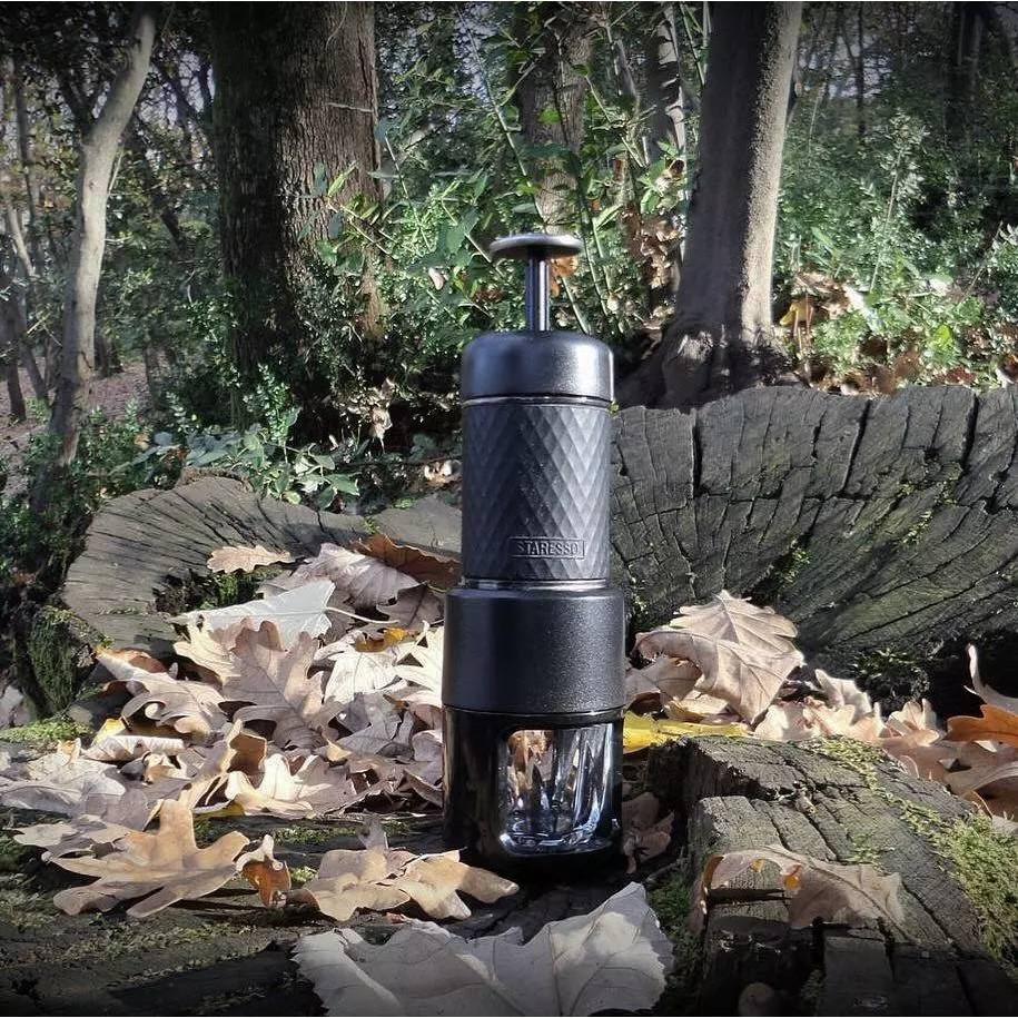 เครื่องทำกาแฟพกพา SP-200 ที่ทำกาแฟแบบพกพา Manual เอสเพรสโซ่ มาตรฐานความดันปั๊ม 15BAR -สินค้ามีพร้อมส่ง-