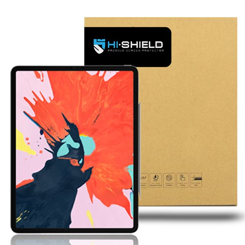 Image # 0 of Review Hi-Shield Tempered glass  iPad Pro (2018) 12.9″นิ้ว (แบบใสเต็มจอ)