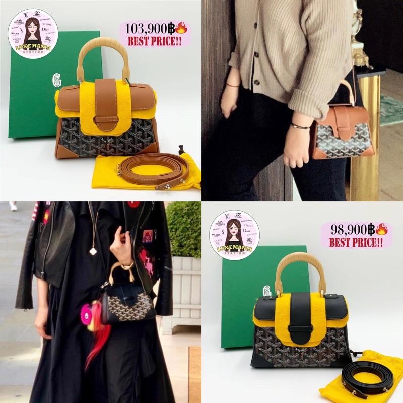 👜: New!! Goyard Mini Saigon Bag