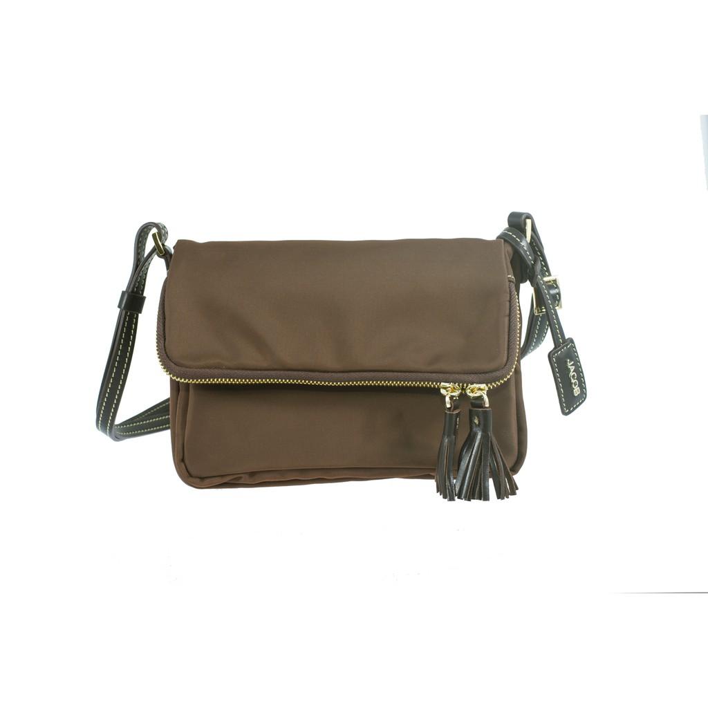 JACOB จาคอป Wrist Bag กระเป๋าคล้องข้อมือ Purse จาคอป หนังแท้ 62751