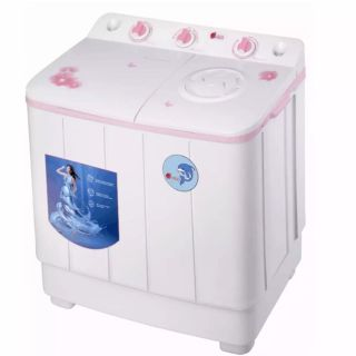 AIGO 8kg Power Wash เครื่องซักผ้า2ถัง ส่งฟรี