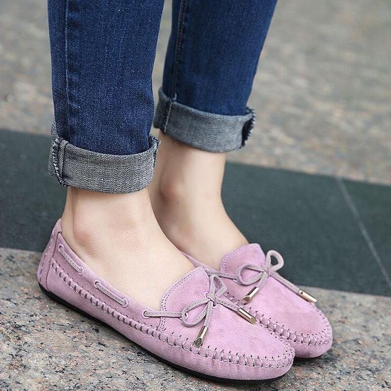 รองเท้าคัชชูกำมะหยี่ คัชชูแบบสวม รองเท้าคัชชูแฟชั่น รองเท้าแฟชั่นผู้หญิง