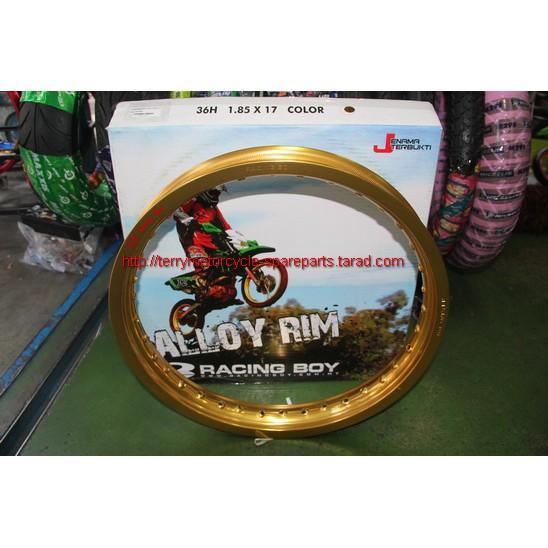 วงล้ออลูมิเนียม US Racing Boy 1.60-12 1.85-12 2.15-12  สีดำ สีทอง สีเงิน Aluminum alloy Rim Firstmotorshop เก็บเงินปลายท