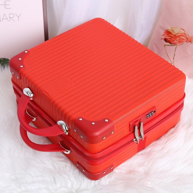กระเป๋าเดินทางใบเล็ก 14 นิ้วกระเป๋าเดินทางใบเล็กน่ารักกระเป๋าเดินทางใบเล็กมือสอง♀❂>กระเป๋าเดินทาง กระเป๋าเดินทางขนาดเล็ก