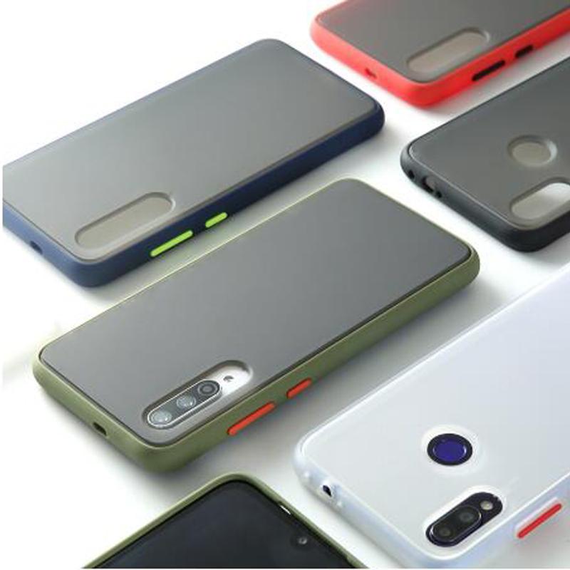 เคส Infinix Hot 9 Play 8 Smart 4 Note 7 Soft Matte Covers Candy Colors Case