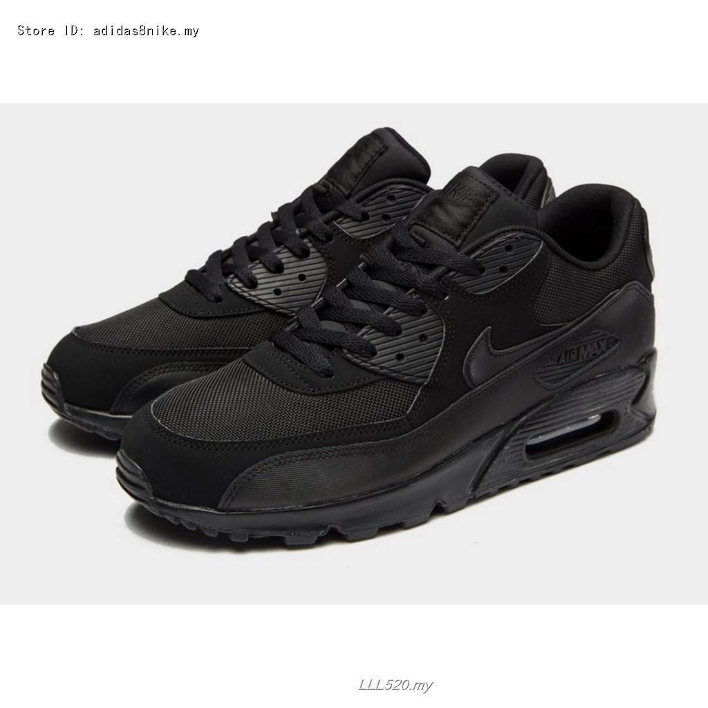 รองเท้าวิ่ง Nike Air Max 90 แท้ 100% สีดำล้วน