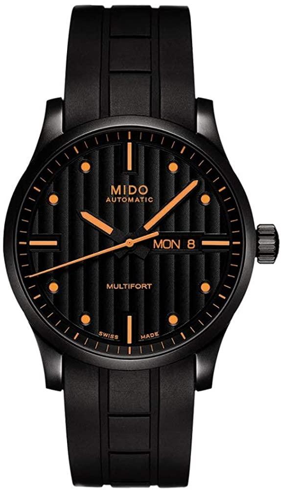 Mido นาฬิกาข้อมือชาย รุ่น:M0054303705102 Mido นาฬิกาควอตซ์ Multifort Gents Automatic Ø 42mm M0054303705102 [กล่อง