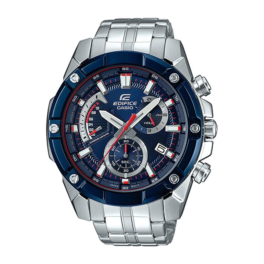 Casio Edifice นาฬิกาข้อมือผู้ชาย สายสแตนเลส รุ่น EFR-559TR,EFR-559TR-2A - สีเงิน