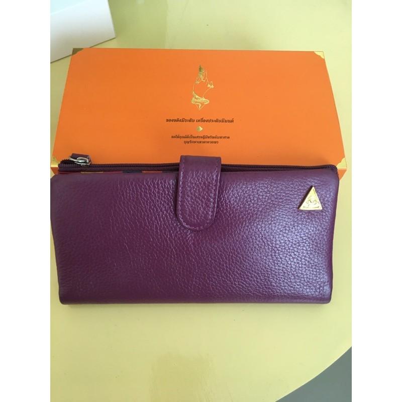 กระเป๋าสตางค์รับทรัพย์ แบรนด์ KK(คุณกิ่ง)