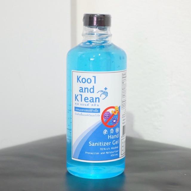 เจลล้างมือคลูแอนด์คลีน แบบรีฟิล(เติม) ขนาด450ml.  Kool and Klean #พร้อมส่ง