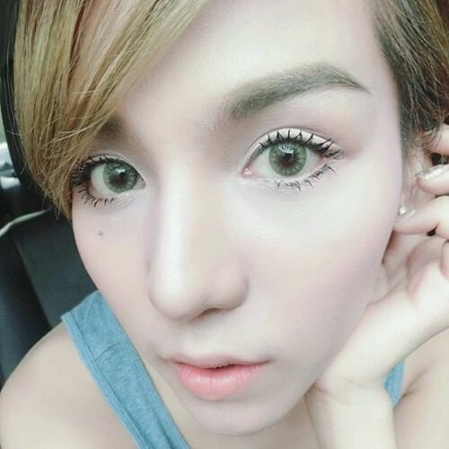 Mini Pony Yellow Sweety Plus Eff 16 Pretty Doll Contact Lens