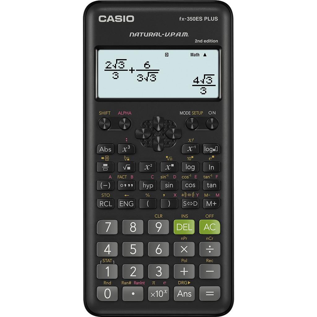 ✤ใหม่! Casio fx-350es plus 2nd edition เครื่องคิดเลขวิทยาศาสตร์
