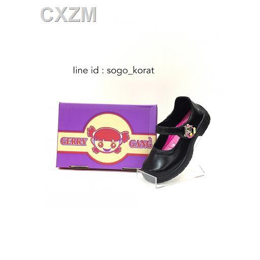 🌷สินค้าคุณภาพดีราคาถูก🌷❣GERRY GANG รองเท้านักเรียนหญิง รองเท้านักเรียนสีดำรองเท้าเด็กผู้หญิงรองเท้าคัชชูเด็กผู้หญิงรุ