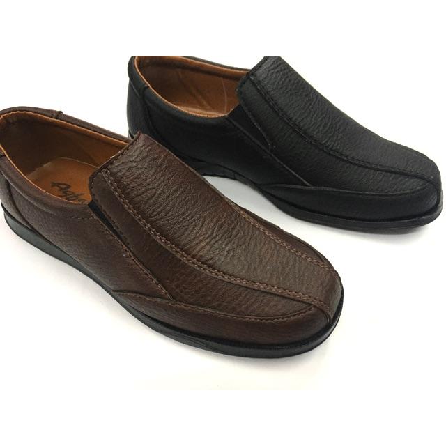 รองเท้าคัชชูหนัง (เย็บพื้น) ผู้ชาย สีดำ สีน้ำตาล ไซส์ 39-46  ยี่ห้อ Agfasa