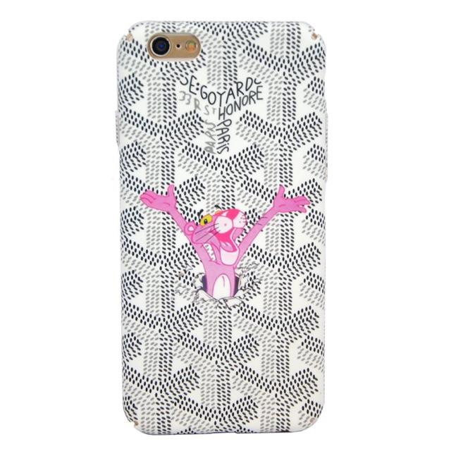 Case Goyard Pink Panther IPhone6/6Plus/7/7Plus(เคสGoyard)