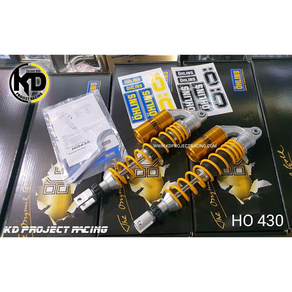 โช๊คหลัง OHLINS HO430 Honda New Forza 300 2015+ แท้ 100%