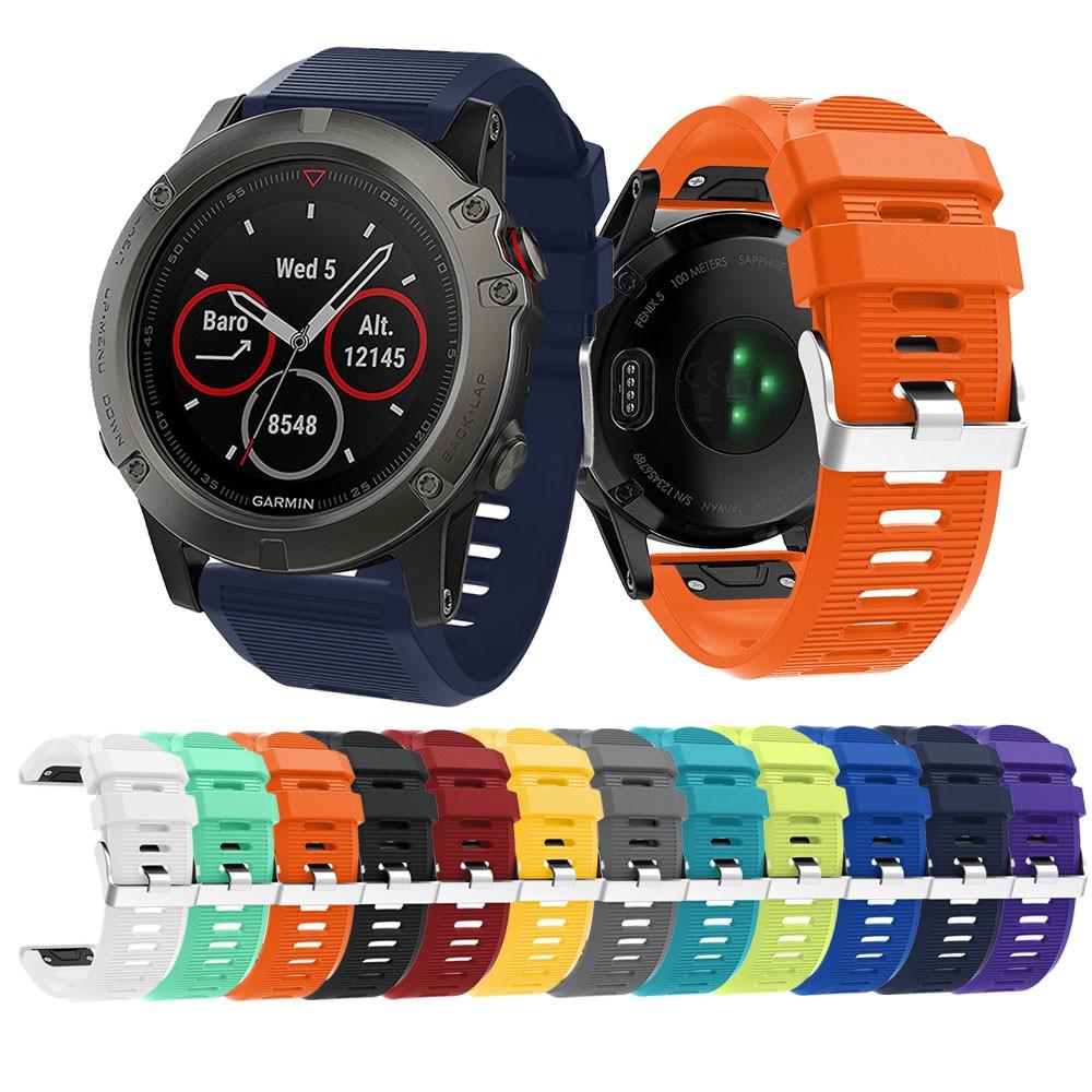 สายนาฬิกา Watch strap Easy fit for Garmin Fenix 5X / Fenix 5x Plus / Fenix  3 / Fenix 3 HR