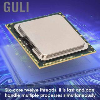 Review Guli Xeon X5675 processor (socket: LGA 1366  6 cores 288 GB ECC 12 MB cache) CPU for X58 X79 series motherboard