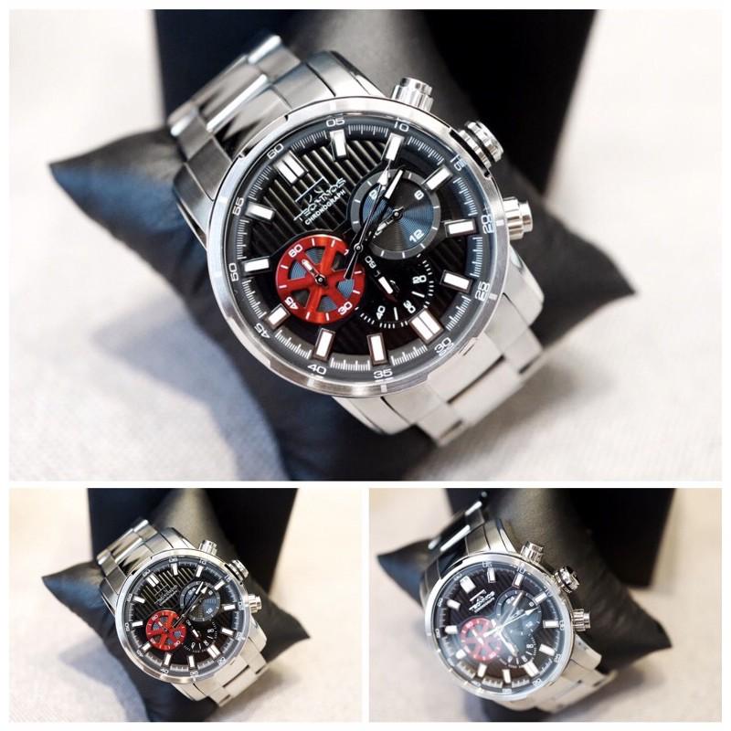 นาฬิกา Technos ของแท้ โคโนกราฟ