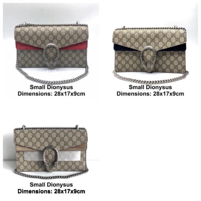Gucci small dionysus ของแท้ ส่งฟรี EMS ทั้งร้าน