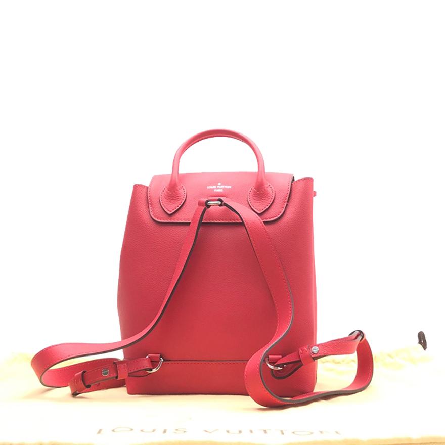 ❤↘กระเป๋ากีฬาหูรูดกระเป๋ากีฬากระเป๋าเดินทาง[ราคาสาธารณะ1.9W][มือสอง9.5ใหม่] Lvหญิงคู่กระเป๋าสะพายหนังเต็มdrawstringกระเป