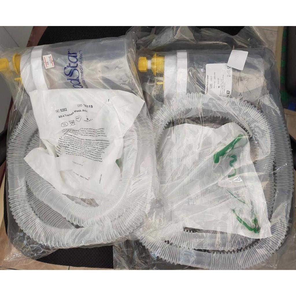 ชุดเจาะคอสายงวงช้างสำหรับผู้ป่วยเจาะคอสำหรับเครื่องผลิตออกซิเจนหรือถังออกซิเจน