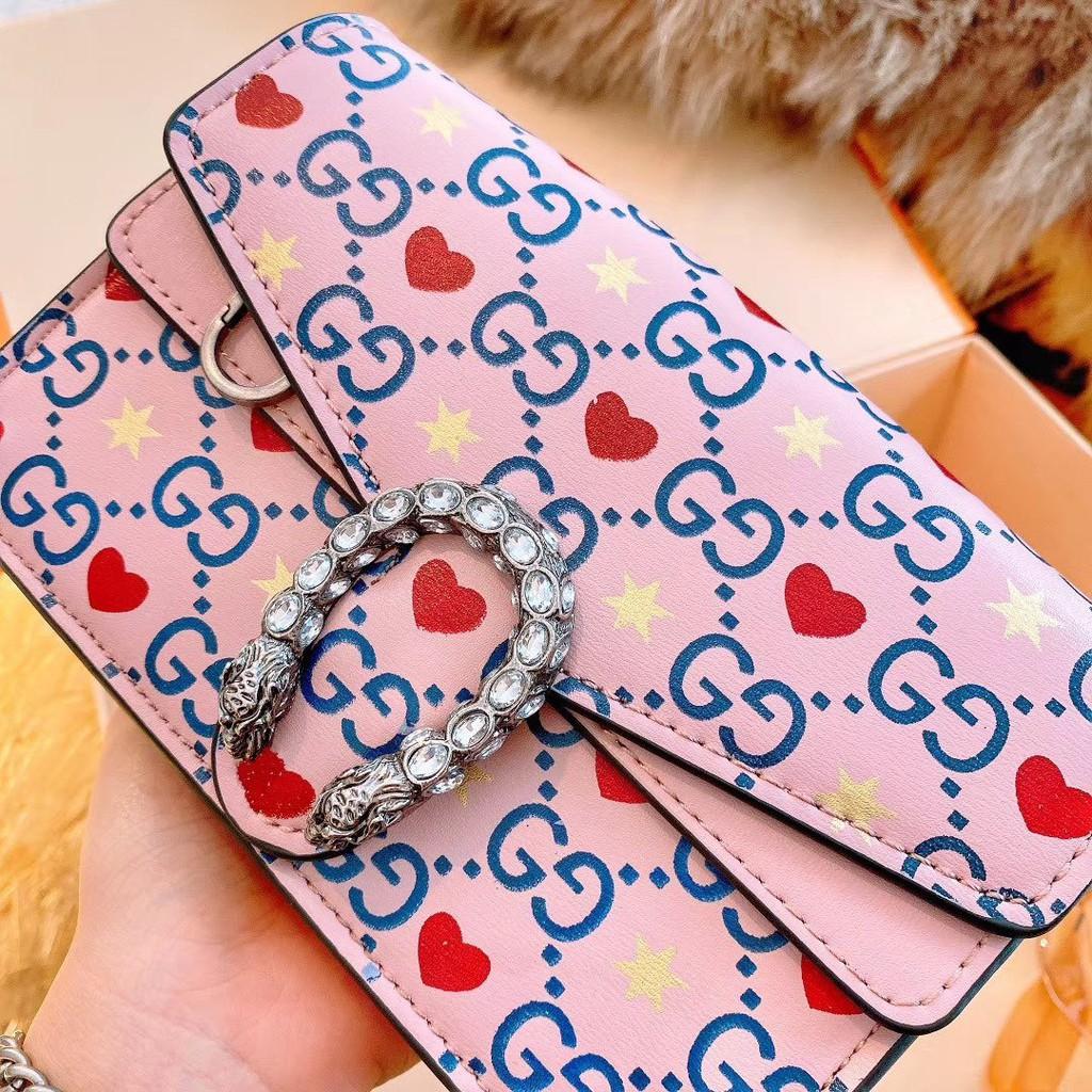 [WS][Ono Shopping] GUCCI Gucci Dionysus GG Supreme Small Bacchus Bag Side Back Shoulder Bag 40024