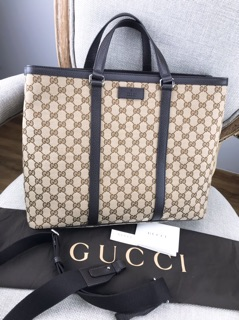 33ae82f9a74 Special Price กระเป๋า GUCCI Beige Canvas GG Guccissima Borsa Donna Large  Tote Bag ส่วนลด - เท่านั้น ฿24
