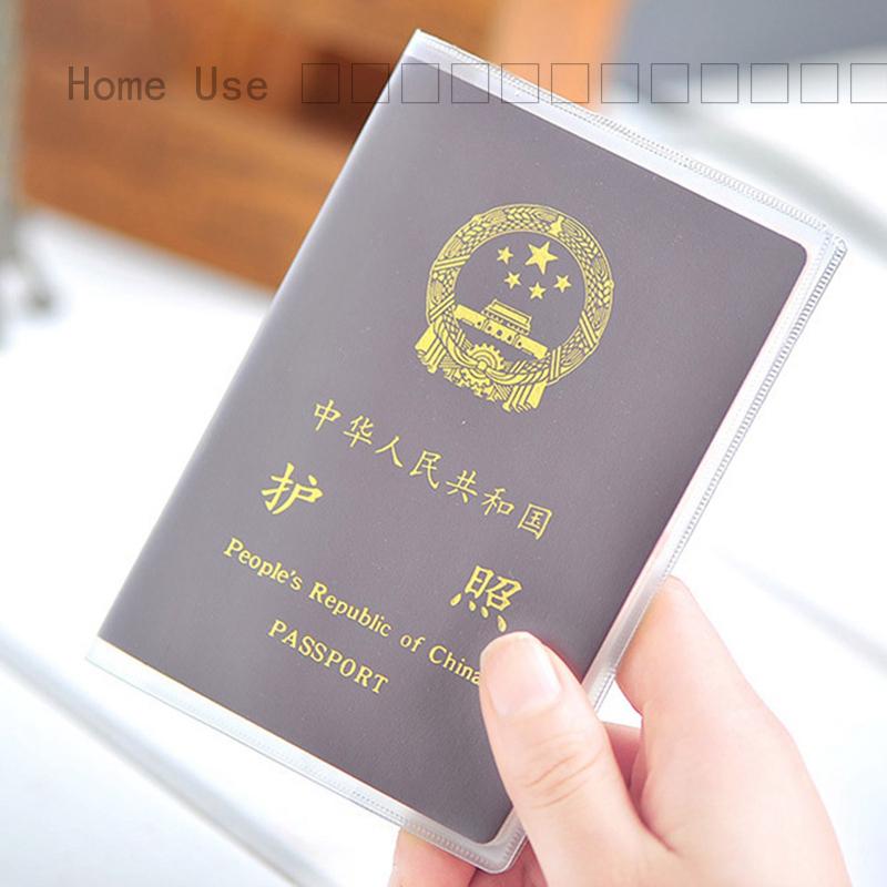 Home Use กระเปกระเป๋าสะพายข้าง???? กระเป๋าใส่หนังสือเดินทาง PVC กันน้ำสำหรับเดินทาง
