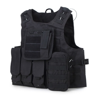 please COD Airsoft Military Tactical Vest Molle Combat Assault Plate Carrier Tactical Vest 7 Colors CS Outdoor Clothing