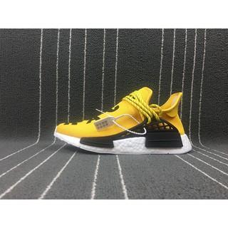 de97501a606b 2018 Newest Adidas Original Pharrell Williams Human Race NMD running shoes Mens  Womens Sneakers Yellow