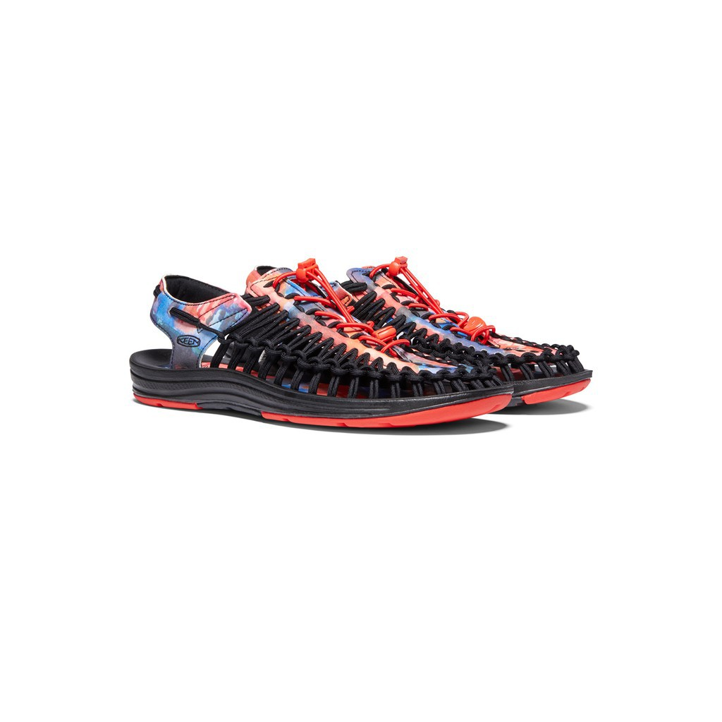 """รองเท้ารัดส้นผู้ชาย รองเท้าชาย รองเท้าคัชชูผู้ชาย รองเท้าแตะ รองเท้ารัดส้น KEEN UNEEK X JERRY GARCIA """" NEW YORK AT NIGHT"""