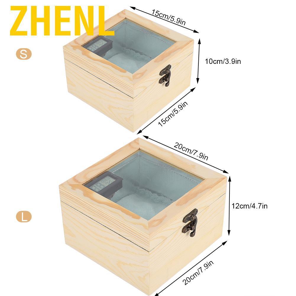 Zhenl กล่องบ่มเพาะพันธุ์นกแก้ว