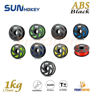 Sunhokey Filament ABS 1kg 1.75mm High Purity , High Precision , High Quality , High Toughness