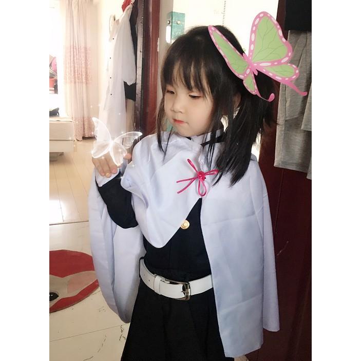 ?พร้อมส่งในไทย ชุดคอสเพลย์ Kids Anime เสื้อดาบพิฆาตอสูร ชุดชิโนบุเด็ก Demon Slayer Cos เครื่องแต่งกาย Nezuko Tanjirou