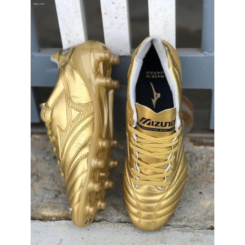 ☎❒♈รองเท้าฟุตบอล รองเท้าสตั๊ด รองเท้ากีฬา Mizuno Morelia Neo II