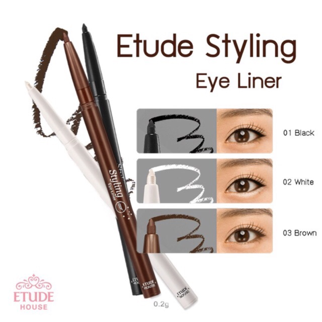 ของแท้ Etude House Eye Liner