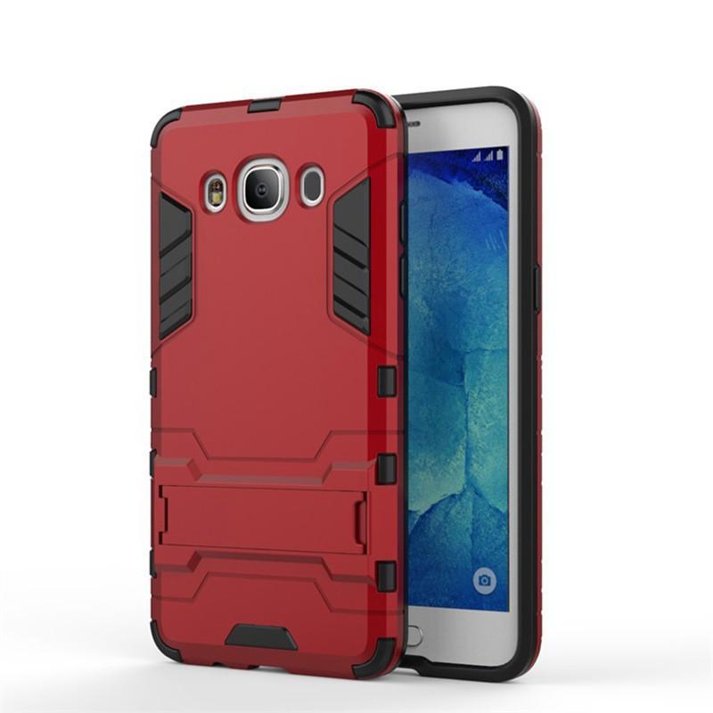 Samsung Galaxy J7 Prime เคสฝาหลัง Hybrid PC + TPU กันกระแทก Armor Kickstand | Shopee Thailand